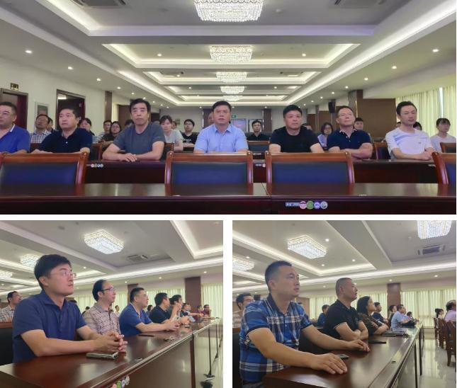庆华诞 感国威 ‖ 集团公司组织集体观看国庆阅兵仪式